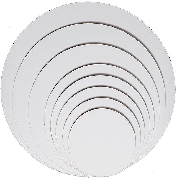 White coated circles.