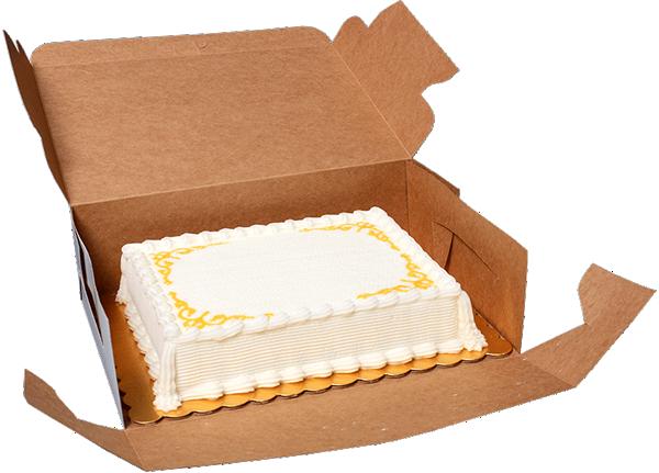 Cake Box Sizes